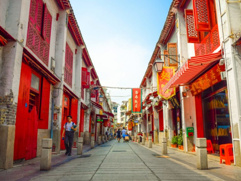 Macau - Eight new spots - Rua da Felicidade