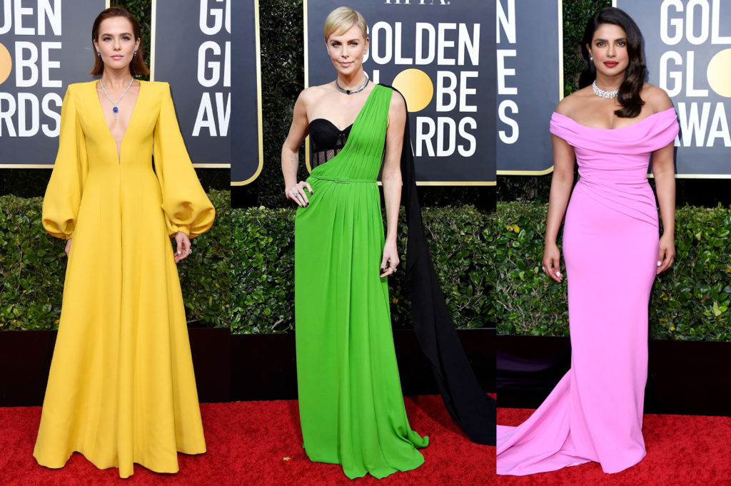 Golden Globes 2020 All The Best Dressed Celebrities That