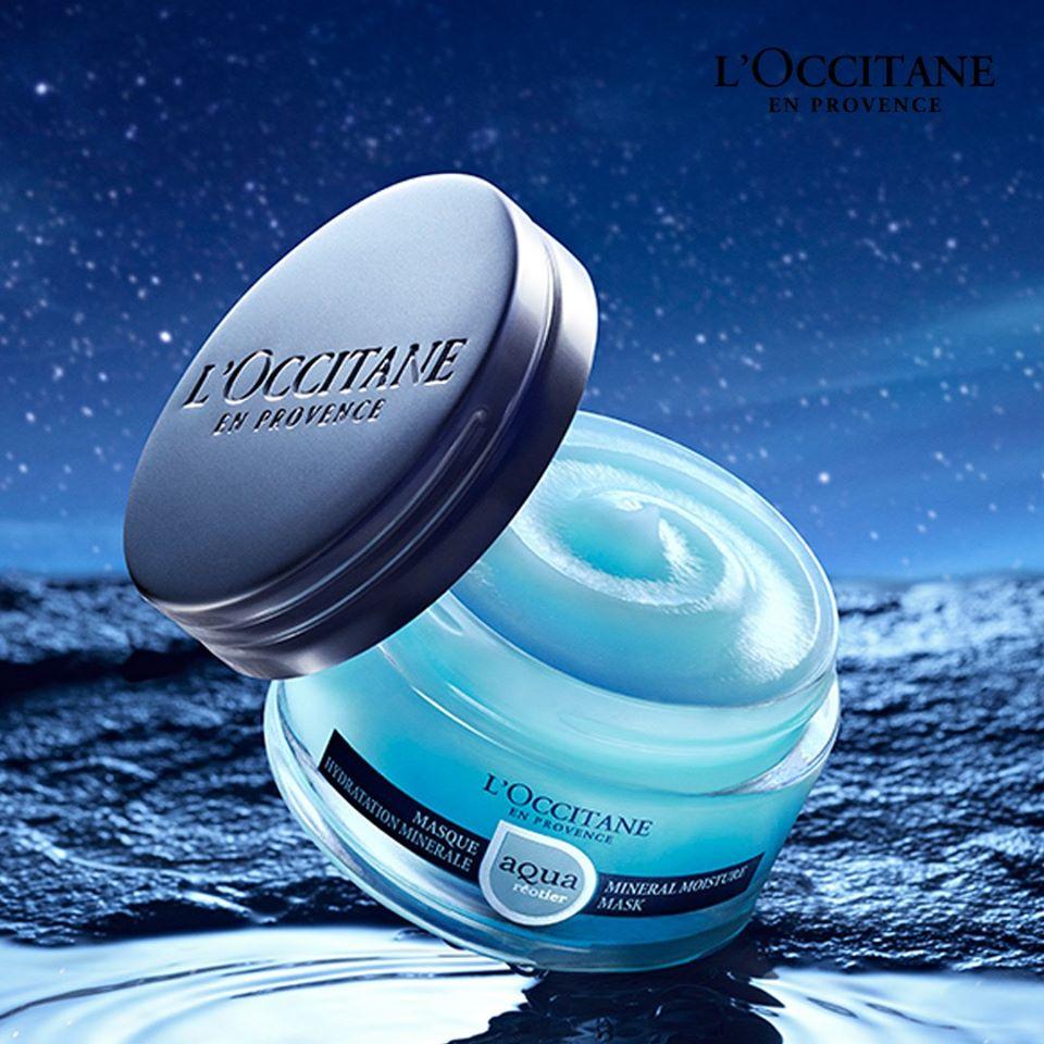 L'Occitane Aqua Masque Hydration Mask