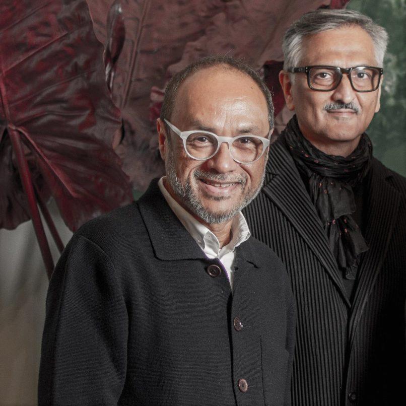 David Abraham & Rakesh Thakore at their resort collection launch.