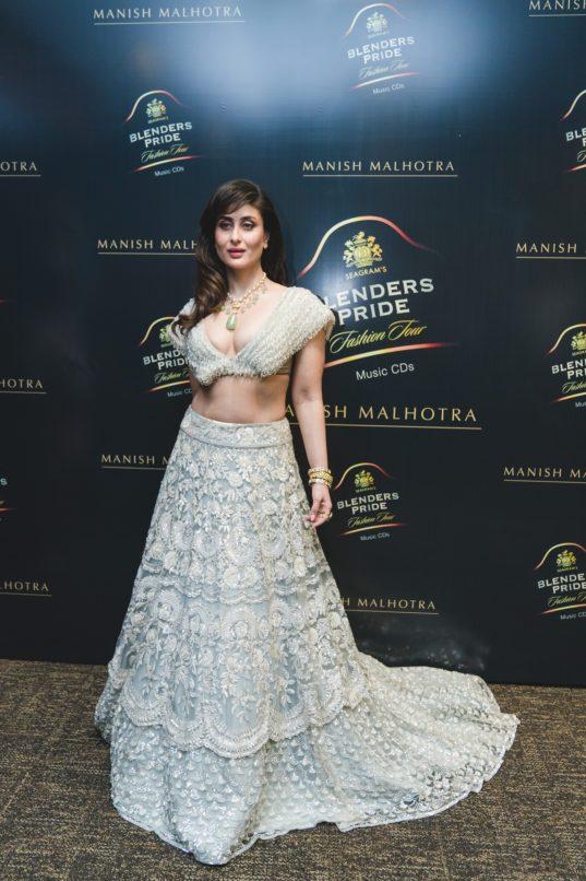Showstopper Kareena Kapoor Khan at Blenders Pride Fashion Tour Hyderabad 2019-20