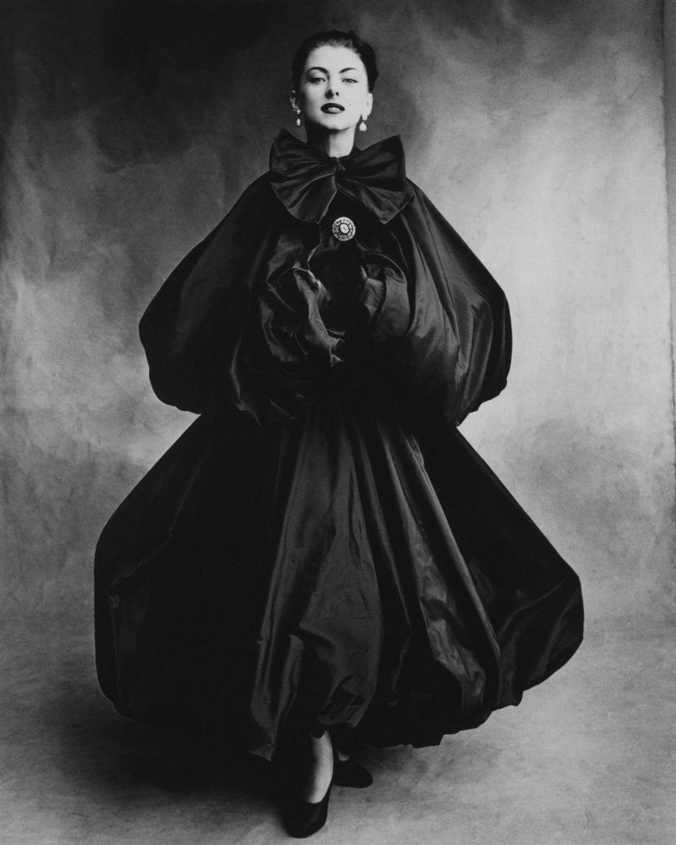 Balenciaga balloon dress, 1950 (Photo credit: Getty Images)