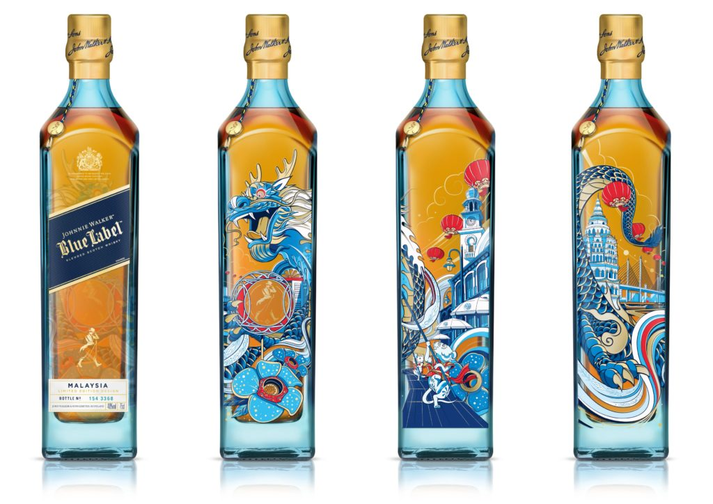 Johnnie Walker Penang design