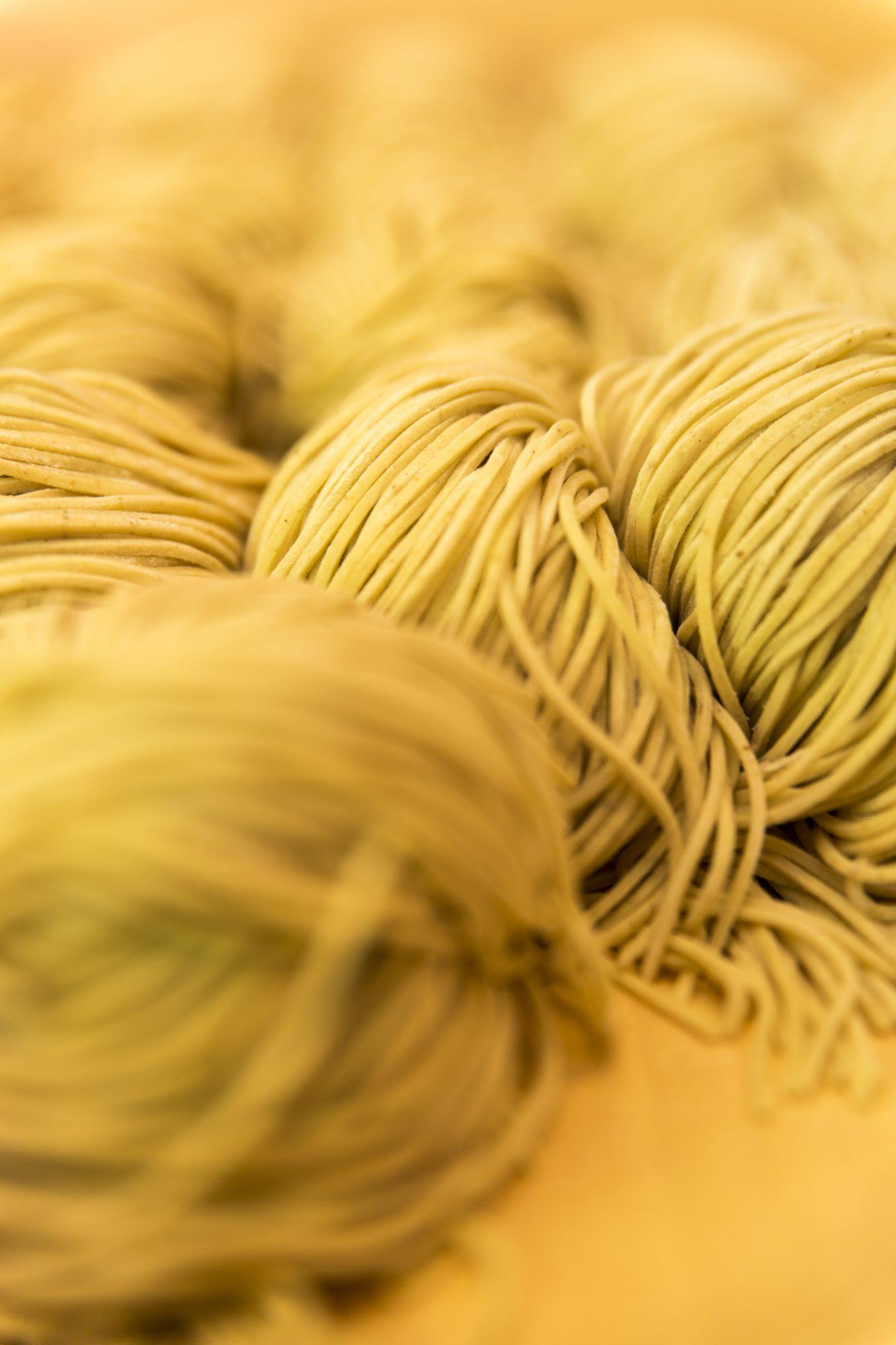 The noodles (Image credit: Slurp Ramen Joint)