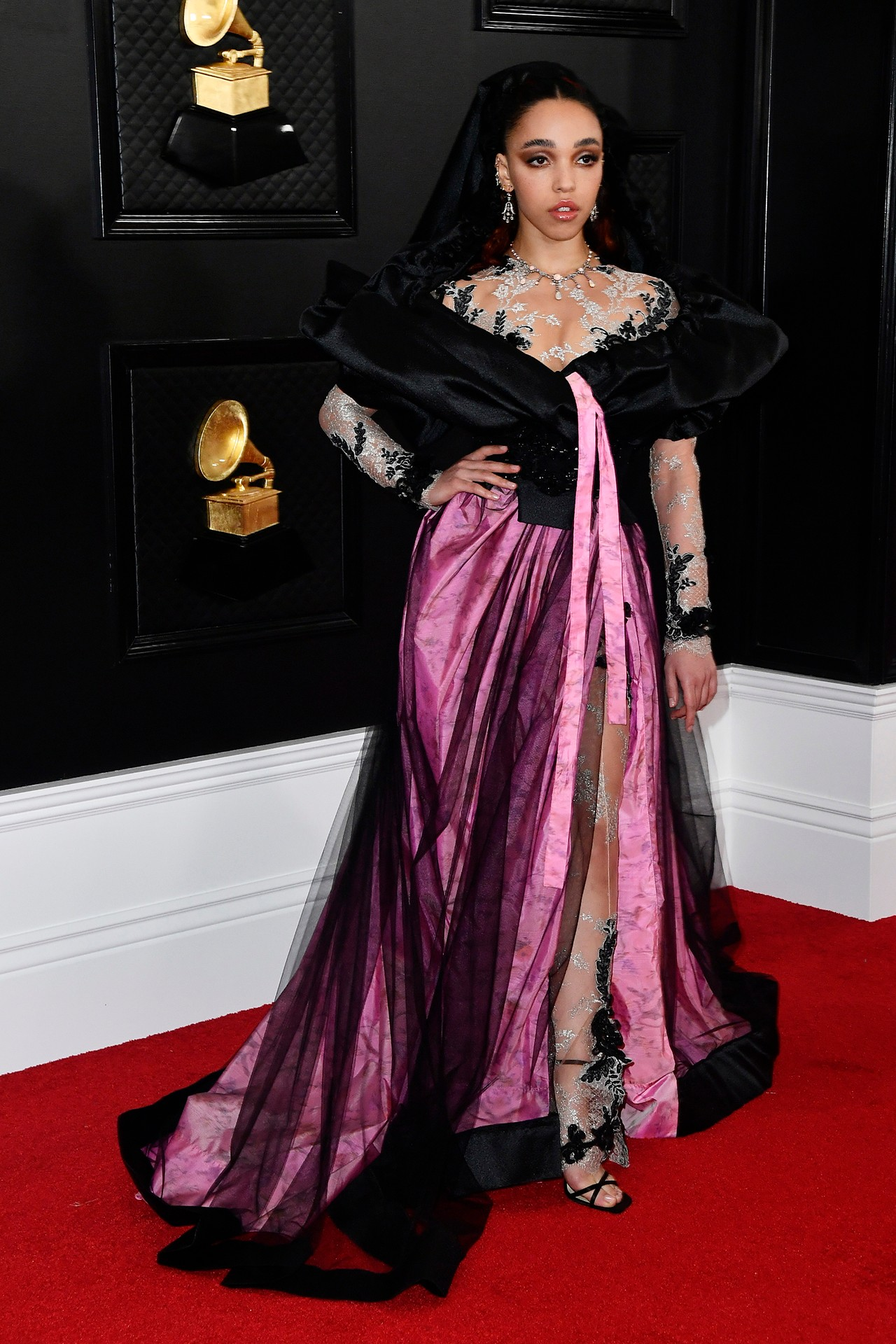 FKA Twigs at the Grammys 2020 (Photo credit: Getty Images)