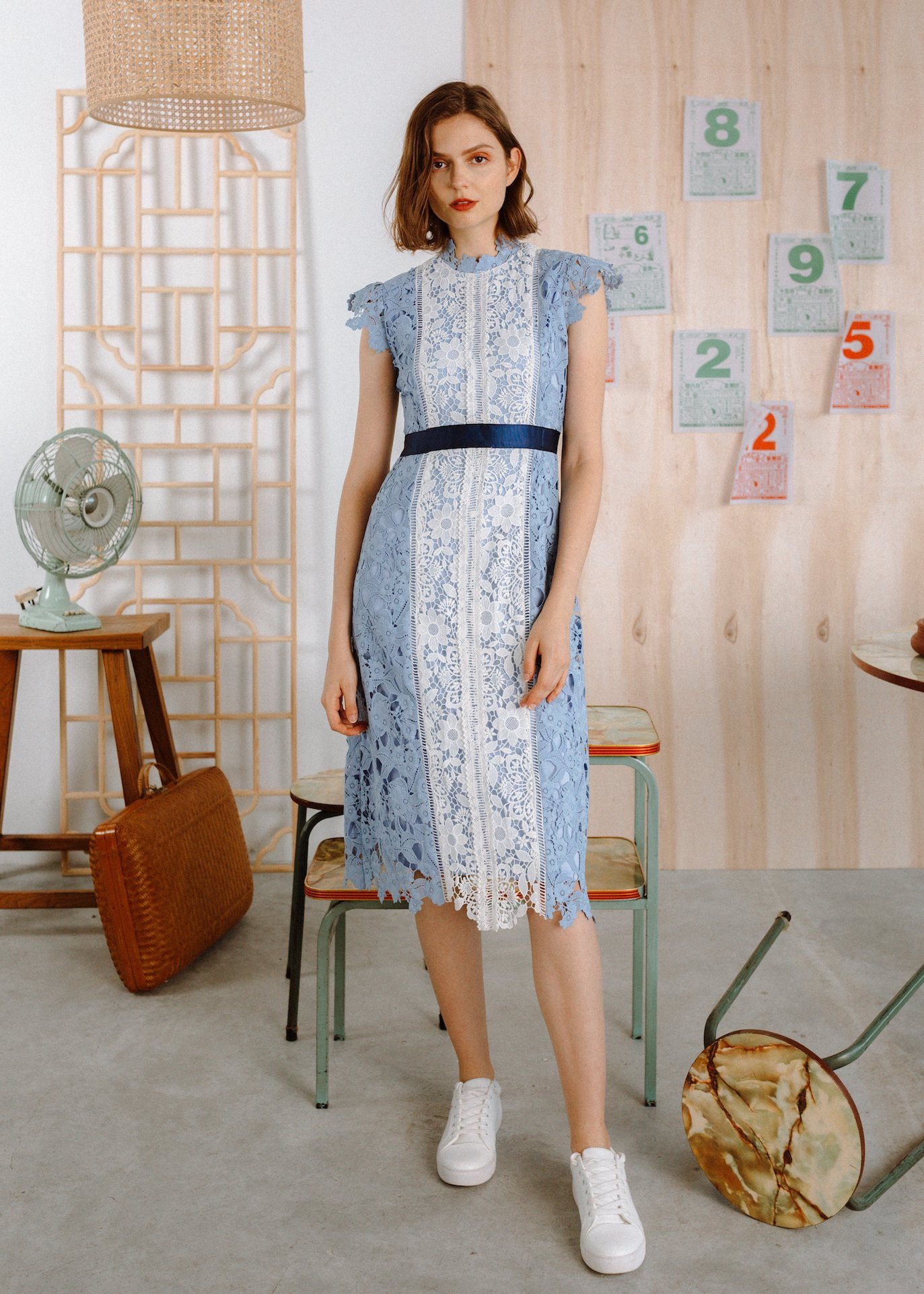 the missing piece lace cheongsam