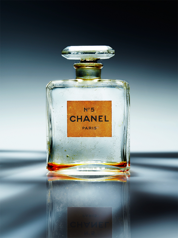 The bottle of Chanel No.5