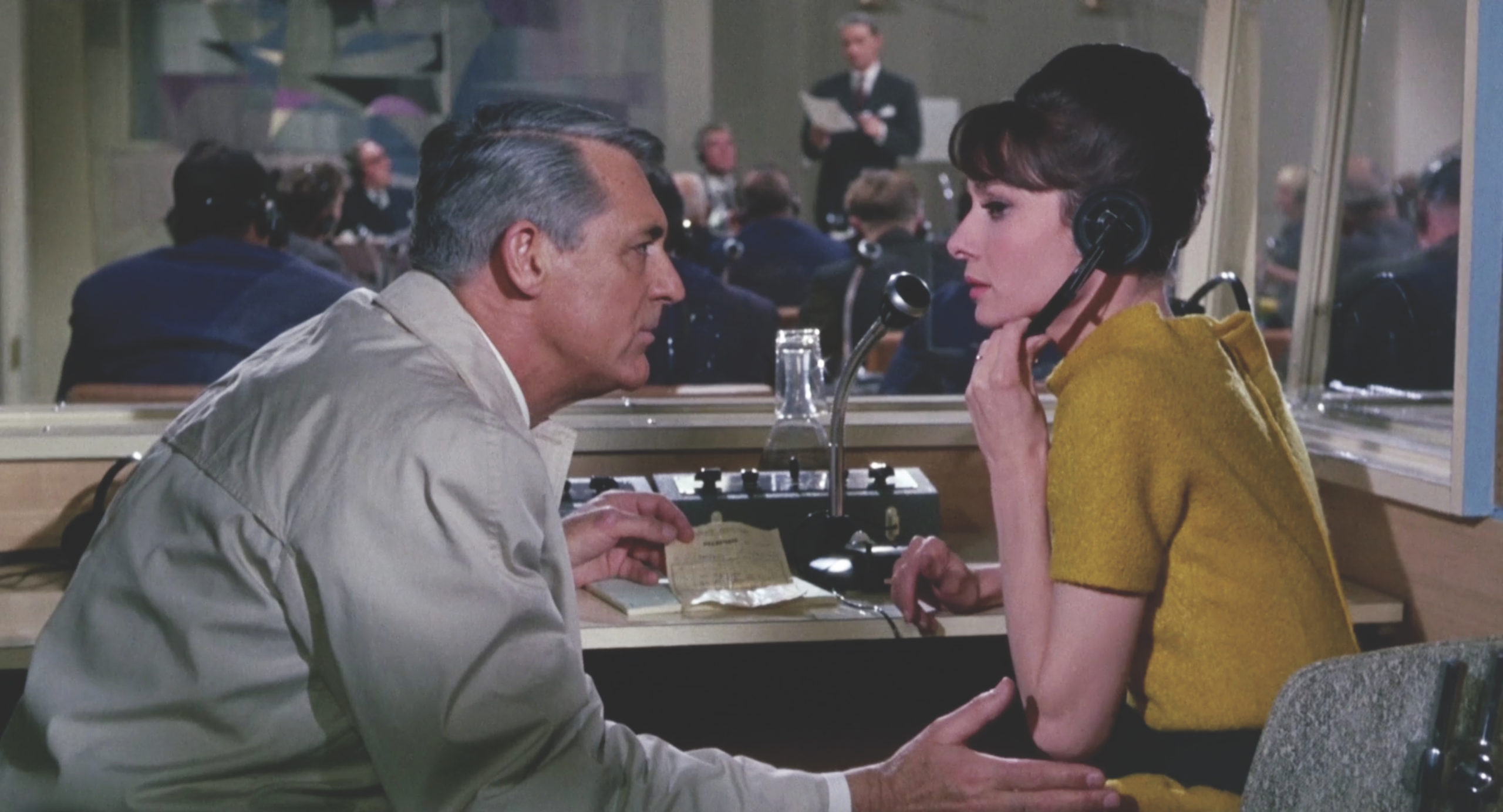 Charade is a rom-com starring Audrey Hepburn and Cary Grant. (Film still courtesy of CELINE)