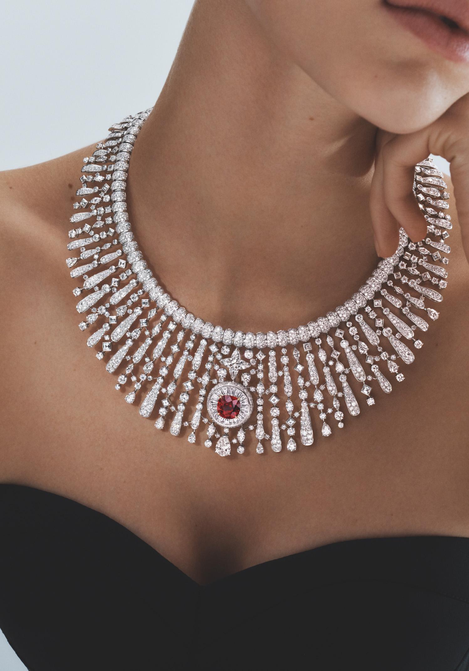 Astre Rouge necklace (Photo credit: Louis Vuitton)